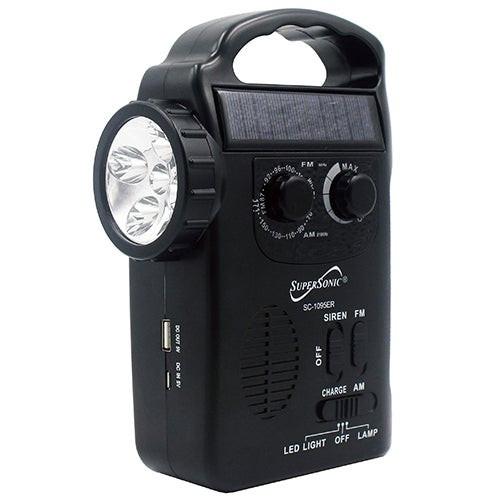 Dynamo Radio w/ Flashlight