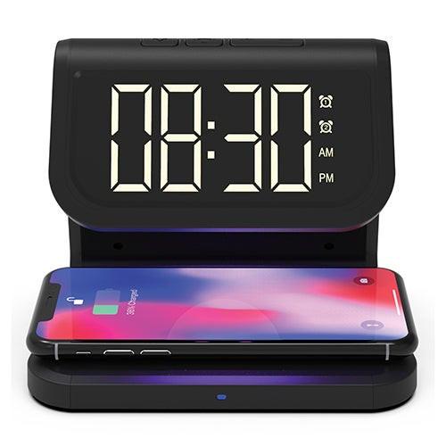 UV Sterilizer Wireless Charger & Alarm Clock