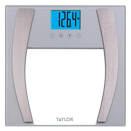 Glass Body Fat Scale 400lb Capacity