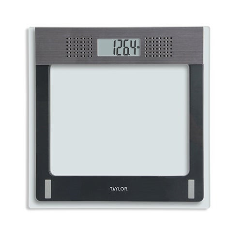 Electronic Glass Talking Bath Scale 440lb Capacity