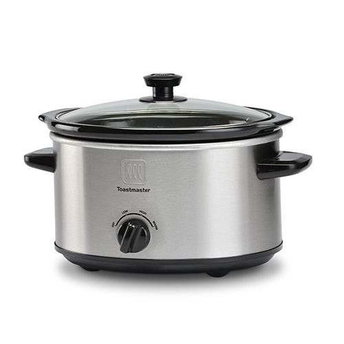 5 Qt Oval Slow Cooker w/ Removable Insert