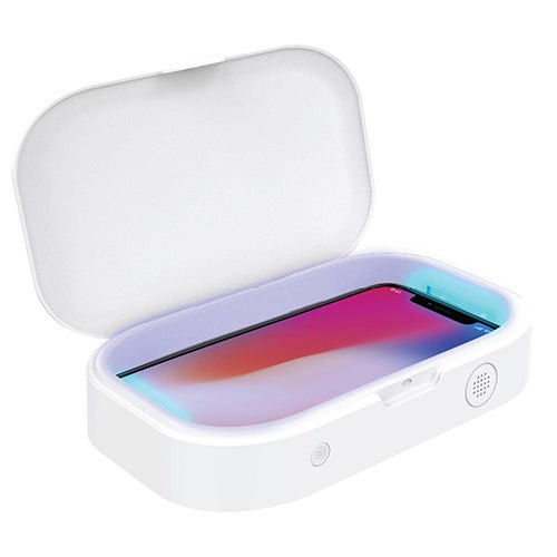 UV Disinfecting Case w/ Wireless Charging