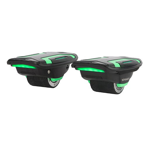 Space Shoes Self-Balancing Hover Shoes Green