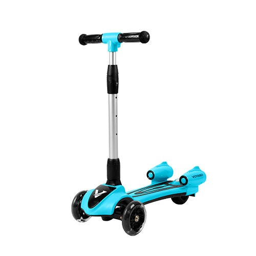 Streamer Kids Light-Up Scooter Blue - Ages 3-8 Years