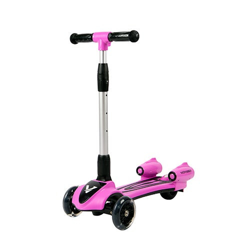Streamer Kids Light-Up Scooter Pink - Ages 3-8 Years