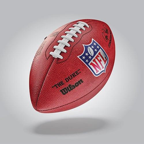 The Duke NFL Leather Game Football