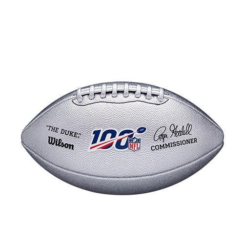 "NFL 100 ""The Duke"" Metallic Footall"