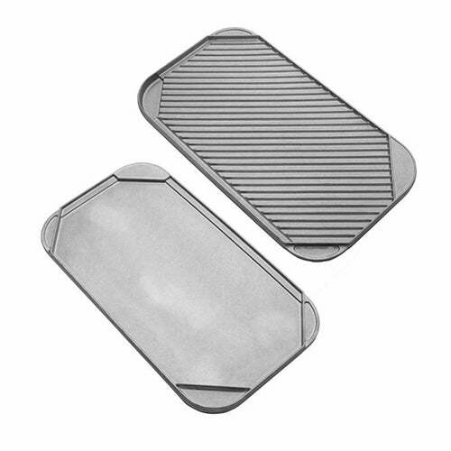 """19.25"""" Double Sided Grill Pan"""
