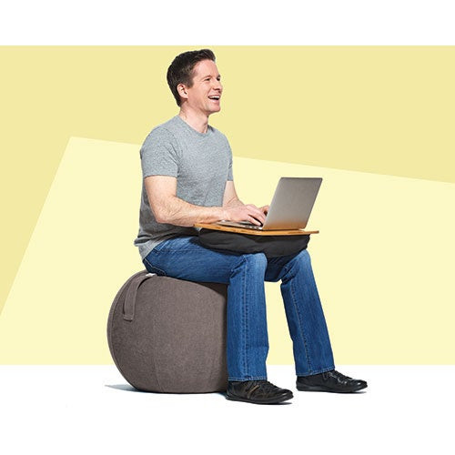 YogaBo Ergonomic Ball Gray