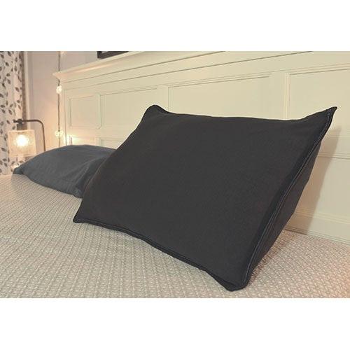 Sleepybo Pillow w/ Dark Gray Pillowcase