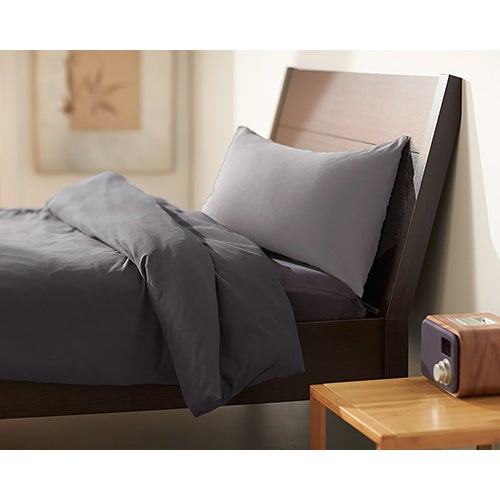 Sleepybo Pillow w/ Light Gray Pillowcase