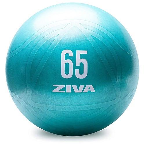 Chic 65cm Anti-Burst Core Fit Ball w/ Hand Pump, Turquoise