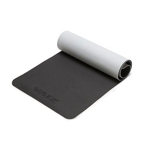 TPE Yoga Mat - 5mm Black/Gray