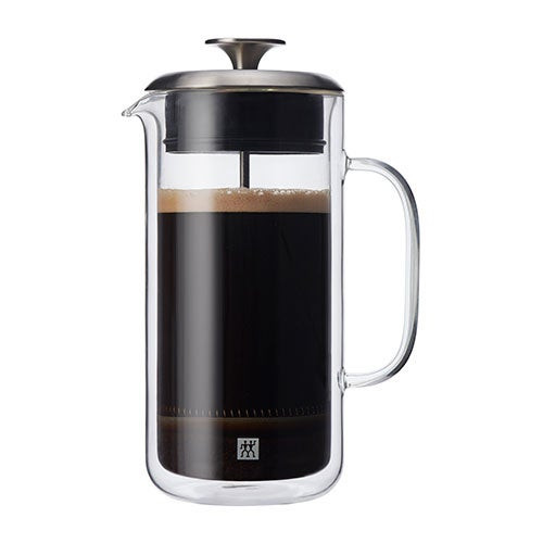 Sorrento Double Walled Glass French Press