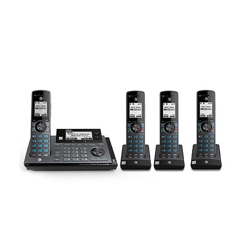 Connect To Cell Answering System w/ 4 Handsets