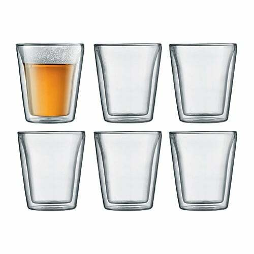 Canteen 6pc Double Wall 6oz Glasses