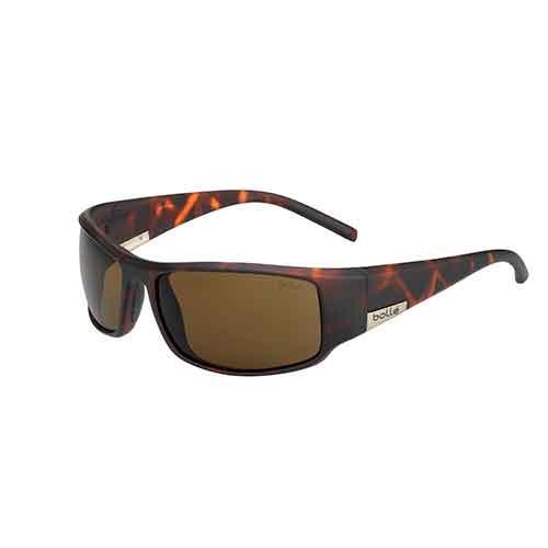 King Matte Tortoise Sunglasses w/ HD Polarized Brown Lens