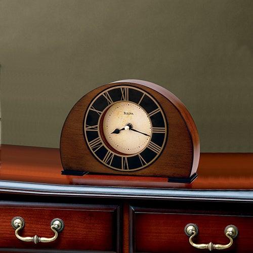 Tremont Mantel Clock Walnut
