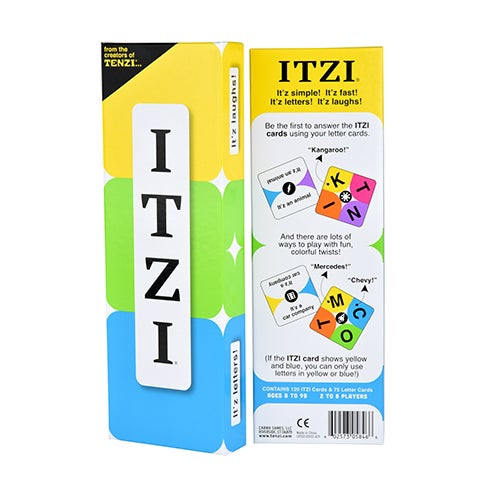 ITZI Card Game Ages 8+ Years