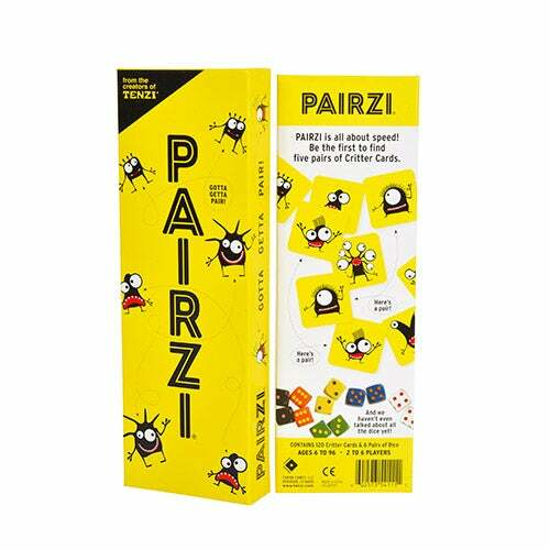 PAIRZI Card & Dice Game Ages 6+ Years