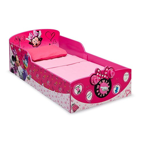 Minnie Mouse Interactive Wood Toddler Bed