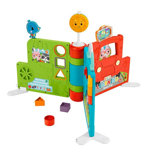 Sit-to-Stand Giant Activity Book, Ages 6+ Months