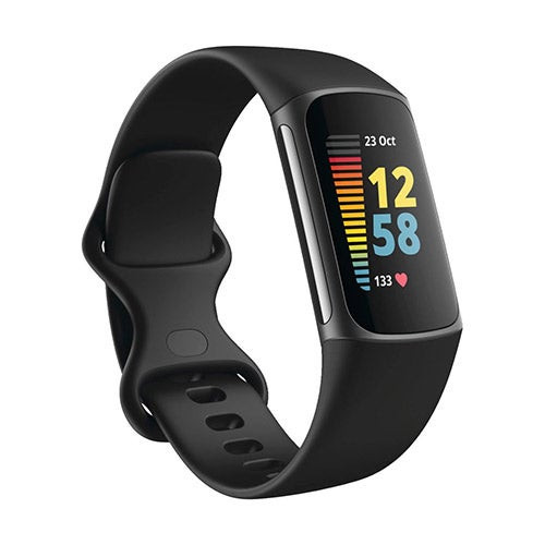 Charge 5 Advanced Fitness + Health Tracker Black/Graphite SS