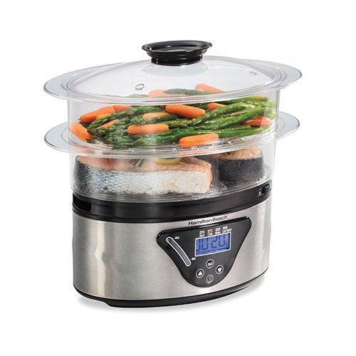 5.5qt Digital Food Steamer