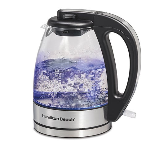 Compact 1L Glass Kettle