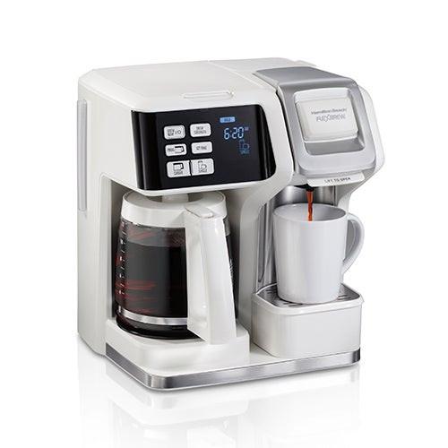 Flexbrew Single Serve Coffeemaker w/ Full Pot