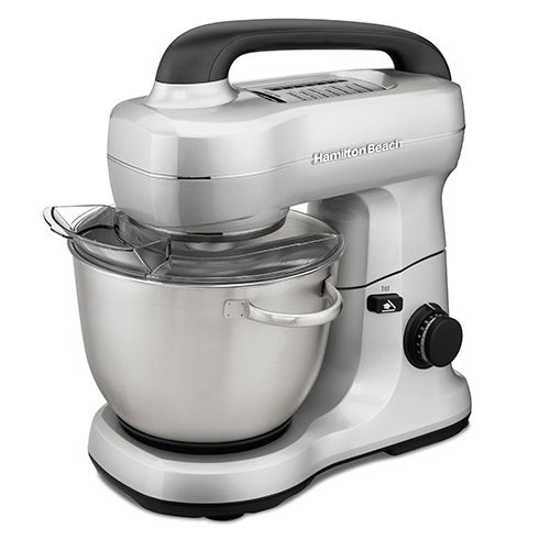7 Speed 4qt Stand Mixer Silver