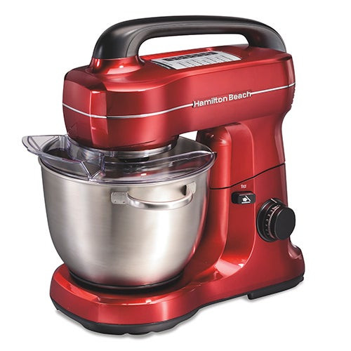 7 Speed 4qt Stand Mixer Red