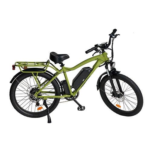 Happy Fatty Mountain Fat Tire Electric Bike Green