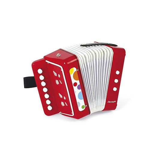 Confetti Toy Accordion Ages 3-8 Years