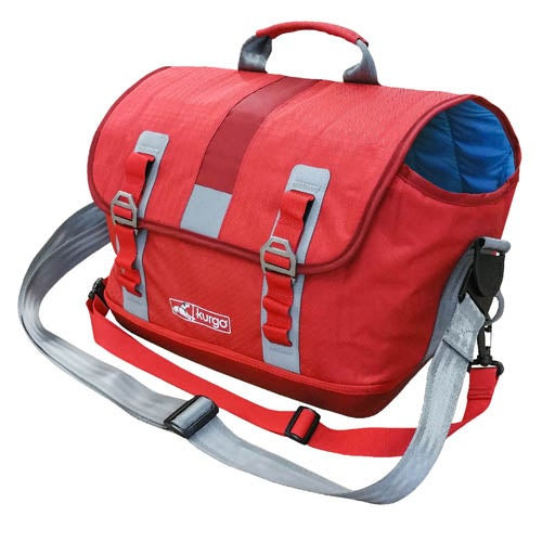 K9 Courier Dog Carrier Chili Red - Small