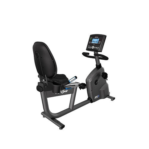 RS3 Recumbent Step-Through Lifecycle Exercise Bike w/ Go Console