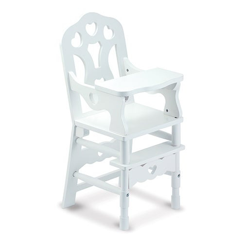 Wooden Doll High Chair Ages 3-7 Years