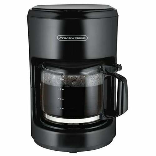 10 Cup Coffeemaker Black