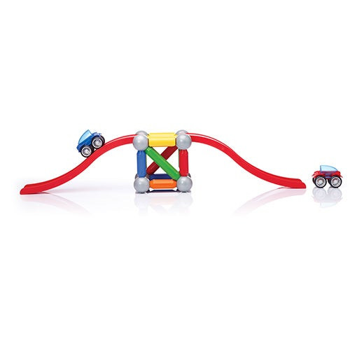 Basic Stunt Cars Magnetic Building Set Ages 3+ Years
