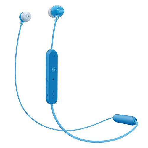 Wireless Bluetooth Earbuds with Mic Blue