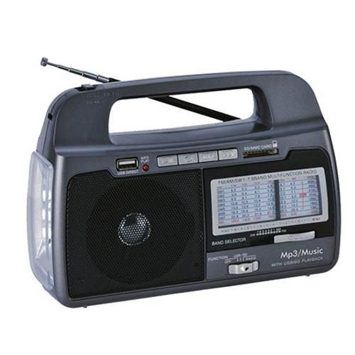 AM/FM Portable Emergency Flashlight