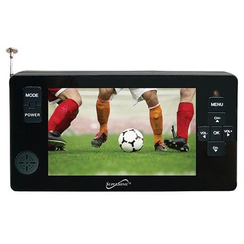 "4.3"" Portable Digital LCDTV w/ USB/SD Inputs"