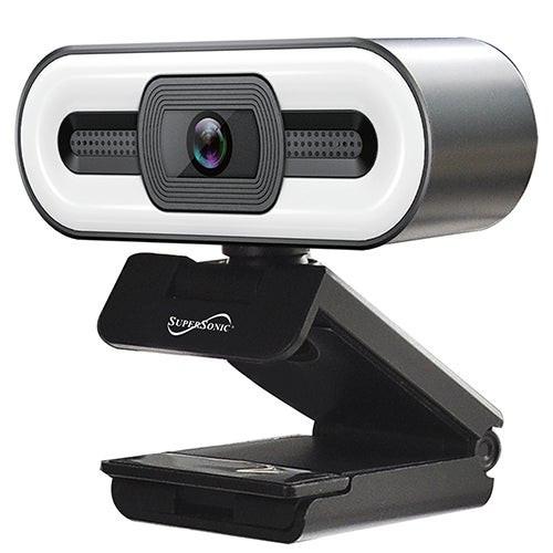 Pro QHD Webcam w/ Ring Light
