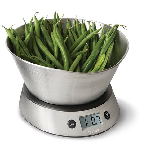 Weighing Bowl & Digital Scale