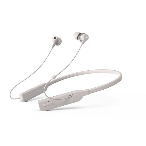 ELIT Wireless Noise Cancelling Hi-Res Earbuds Cement Gray