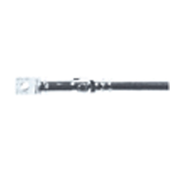 Silver Replacement 6 Section Telescopic FM Aerial to 615 mm
