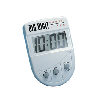 Large Digit Electronic Countdown Timer with 19 Hours 59 Minutes Countdown Capability