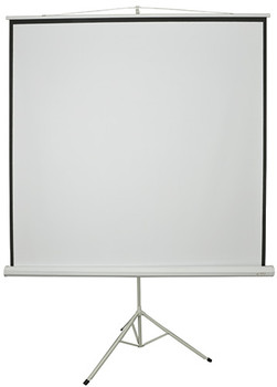 "84"" MANUAL TRIPOD PROJECTOR SCREEN"
