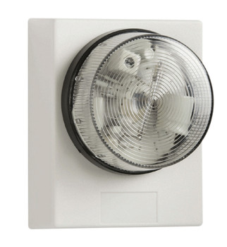 Bell White FB31 Flashing Beacon with Timer