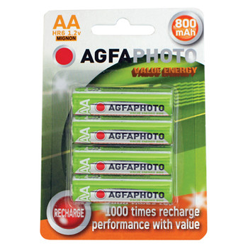 AGFAPHOTO Rechargeable Nimh Battery - Pack of 4 [ AG638 ]
